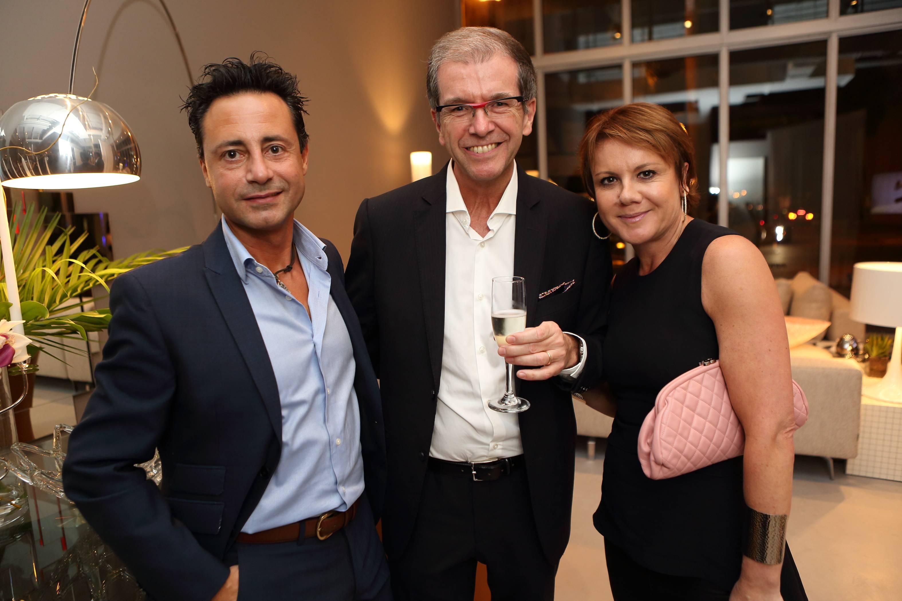 Francesco Piccirillo, Gian Rizzi, Laura Marzillli