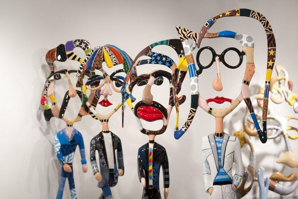 Dorit Levinstein Sculptures