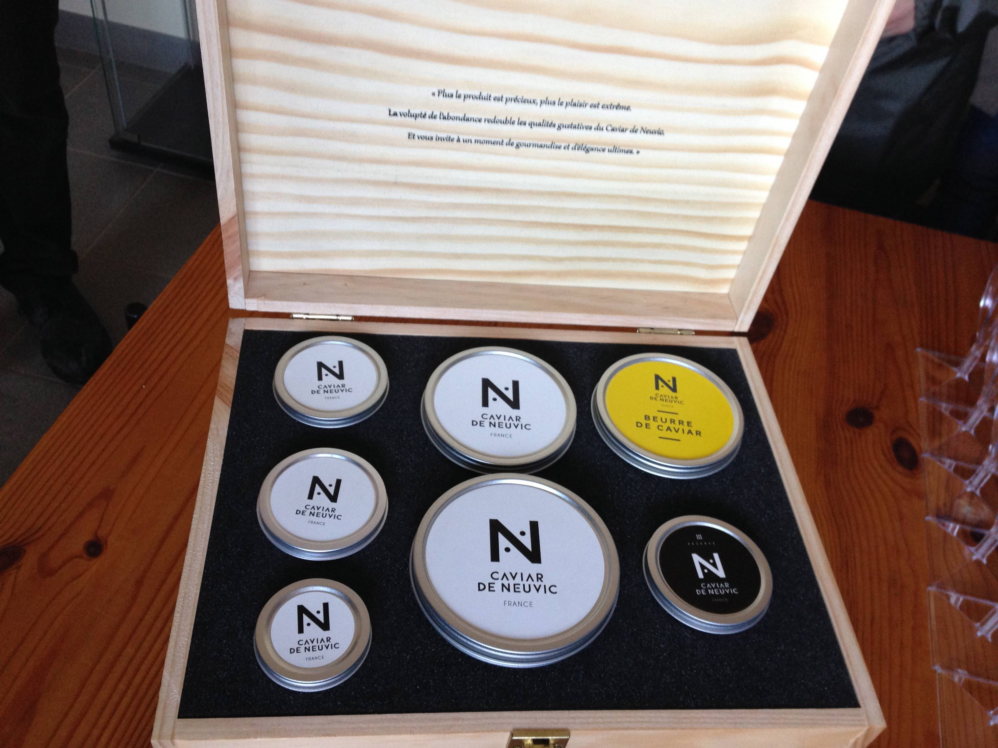 Assortment of Neuvic Caviar