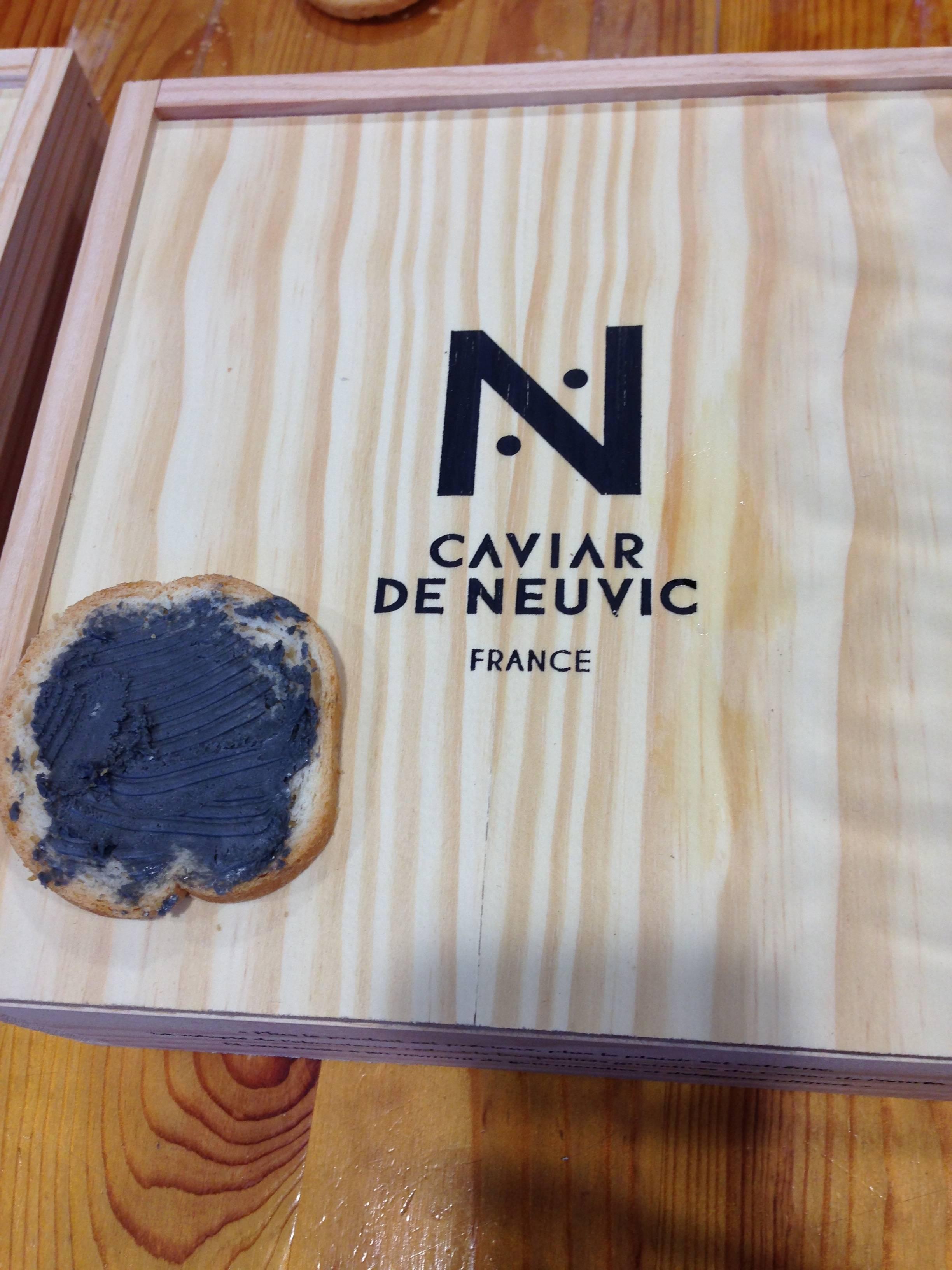 Caviar butter on toast