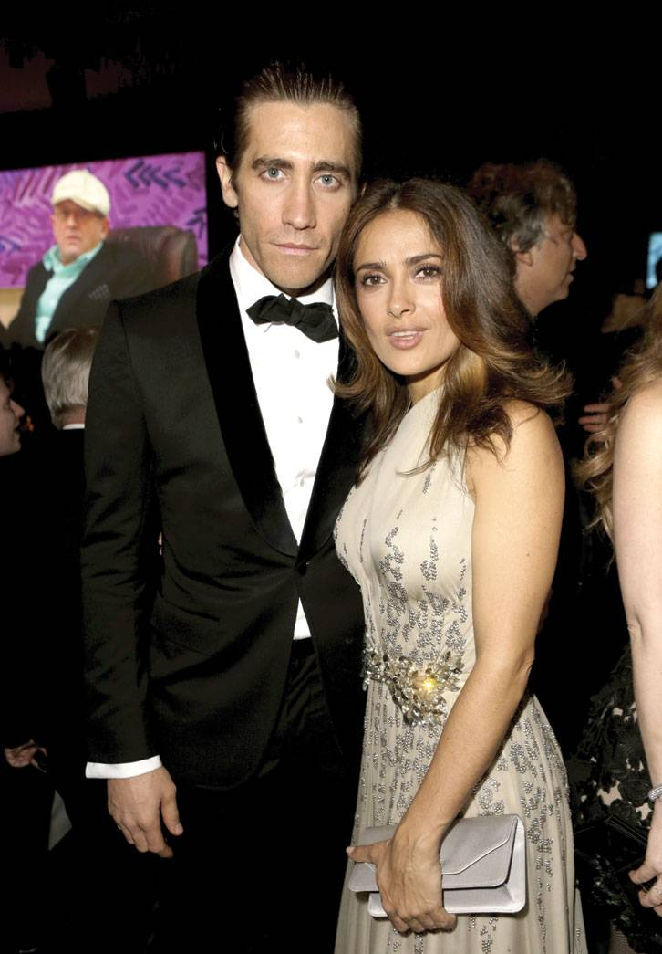 Jake Gylenhaal and Salma Hayek