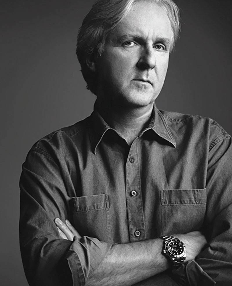 James-Cameron-Rolex-Avatar_b&w