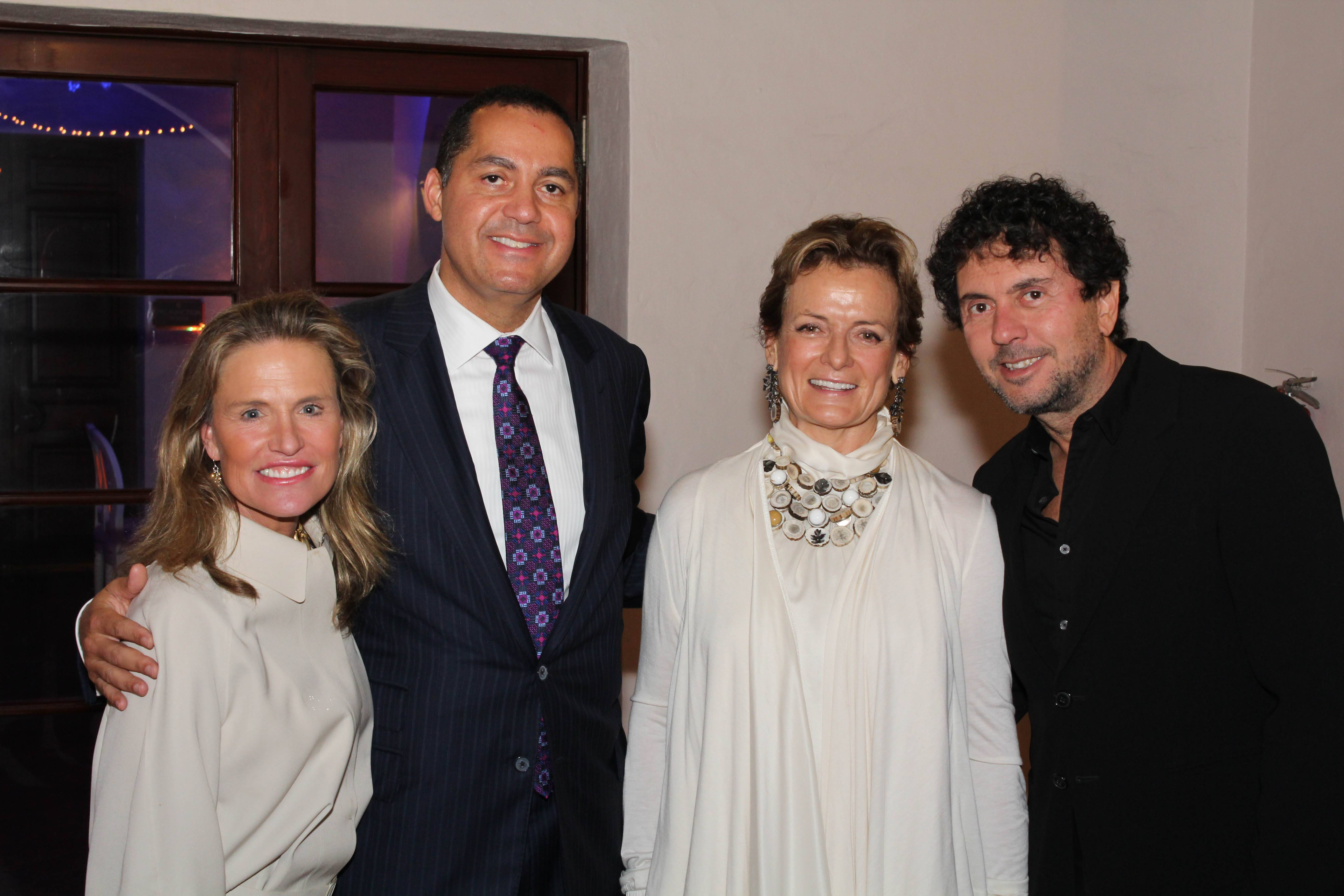Jennifer Post, Don Peebles, Alexandra Champalimaud, Joao Armentano