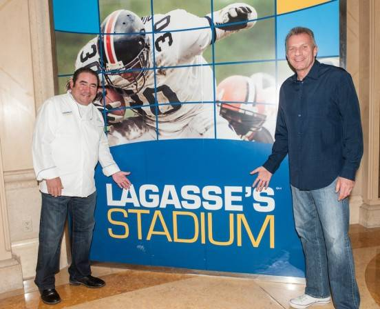 Emeril Lagasse and Joe Montana