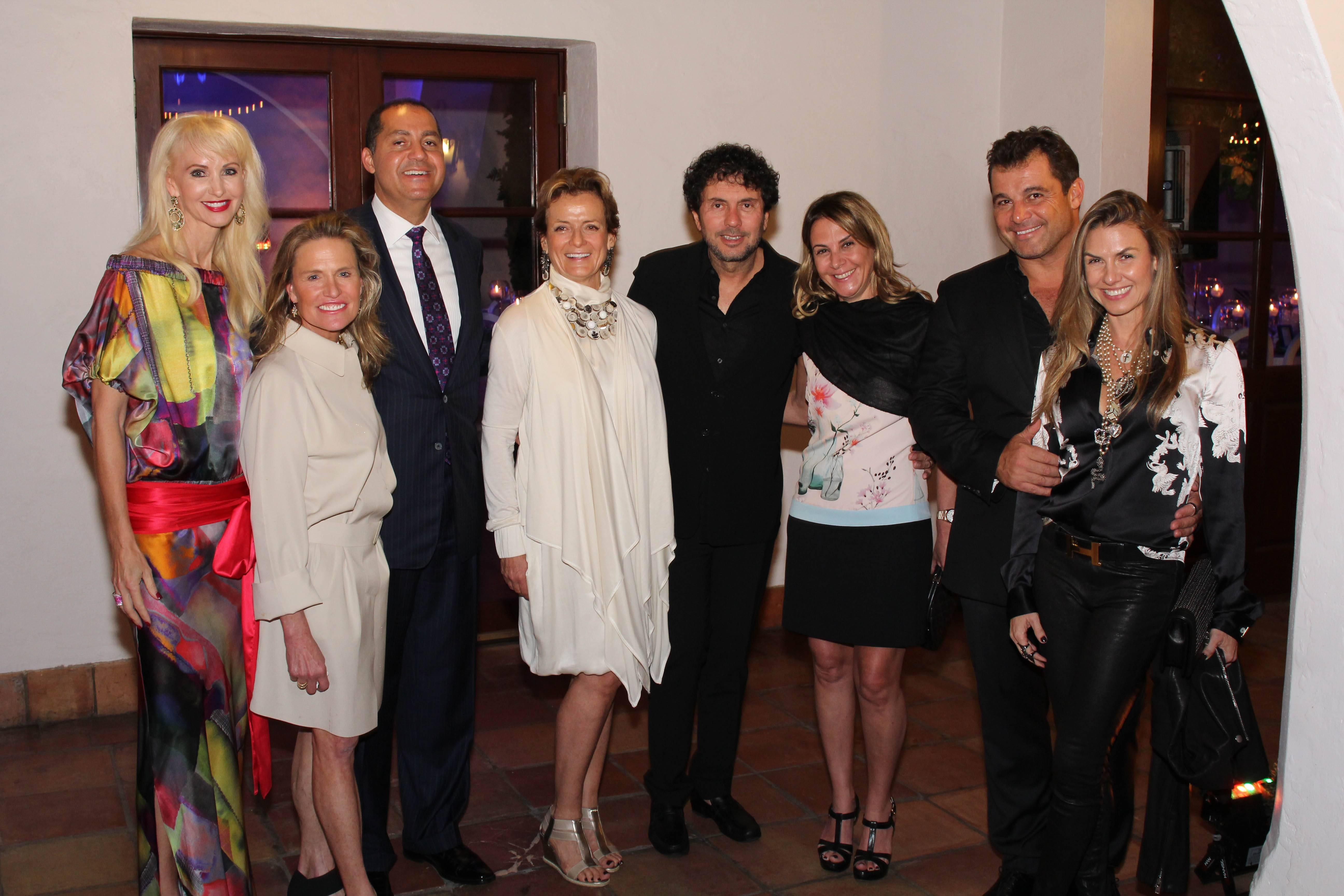 Katrina Peebles, Jennifer Post, Don Peebles, Alexandra Champalimaud, Joao Armentano, Chris Armentano, Paulo Bacchi, Lais Bacchi