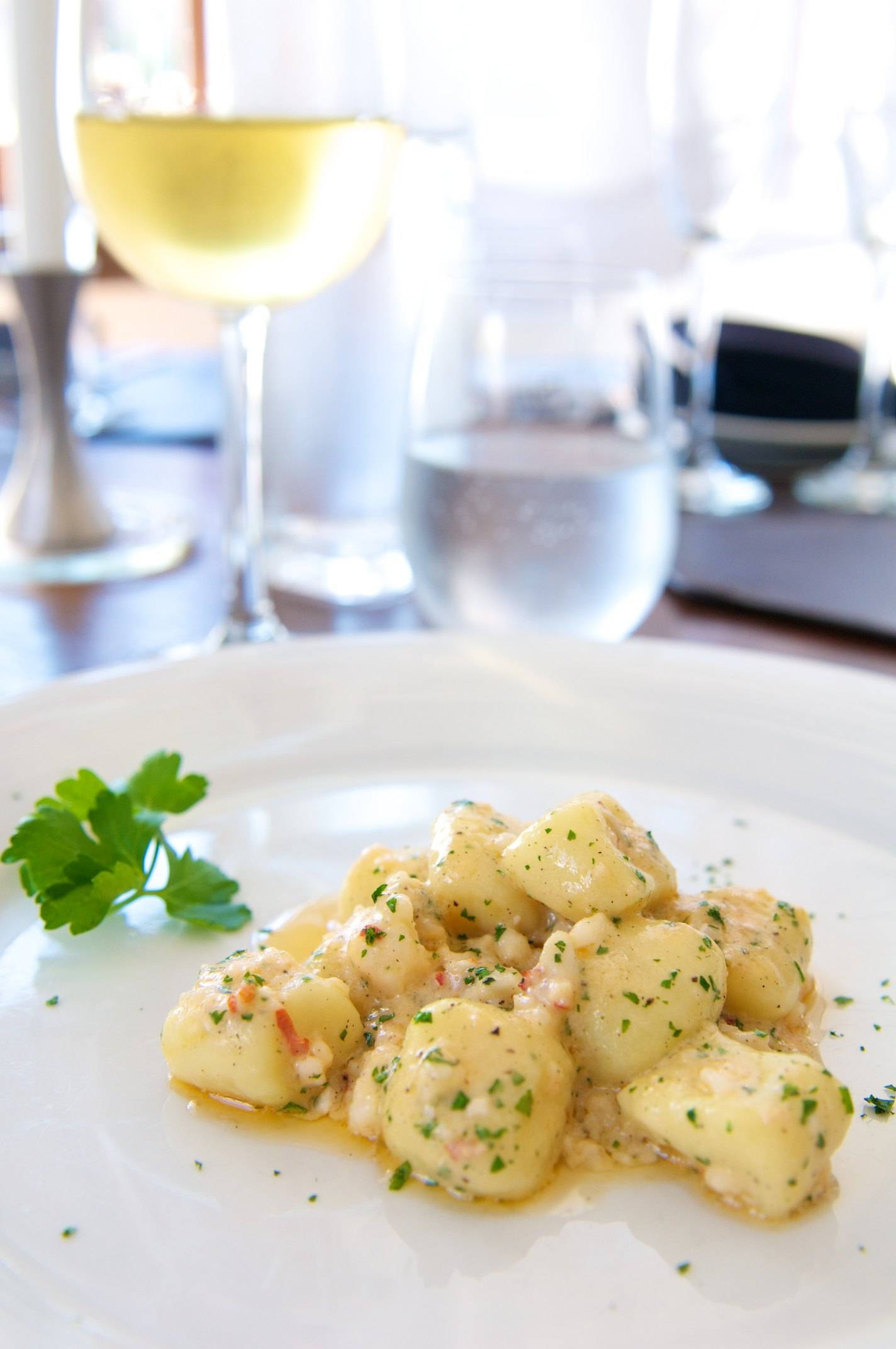 La Sosta Enoteca Gnocchi w: Lobster Photo