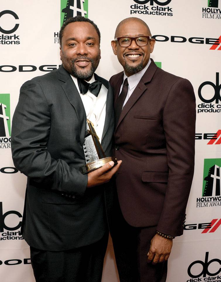 Lee Daniels and Forest Whitaker