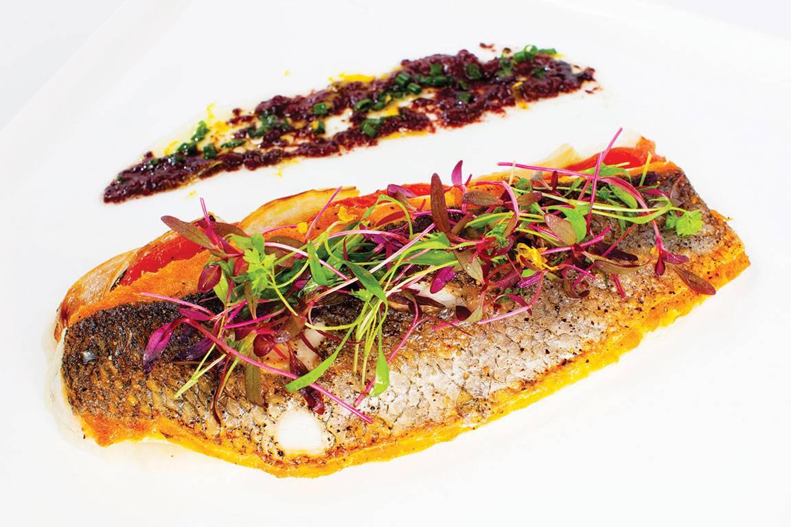 Lure-Fishbar-Miami-Sauteed-Branzino---Photo-Credit-Bill-Wisser