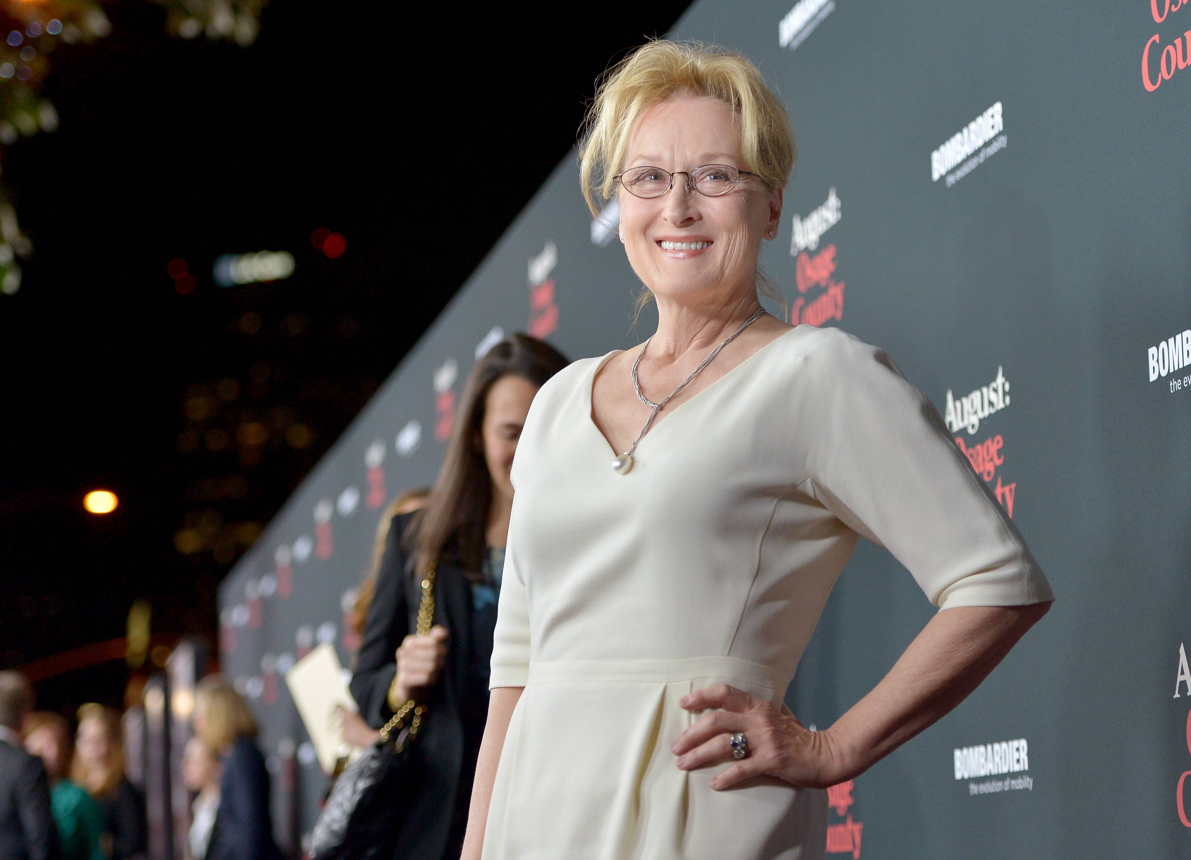 """The Weinstein Company Presents The LA Premiere Of """"August: Osage County"""" In Partnership With Bombardier – Red Carpet"""