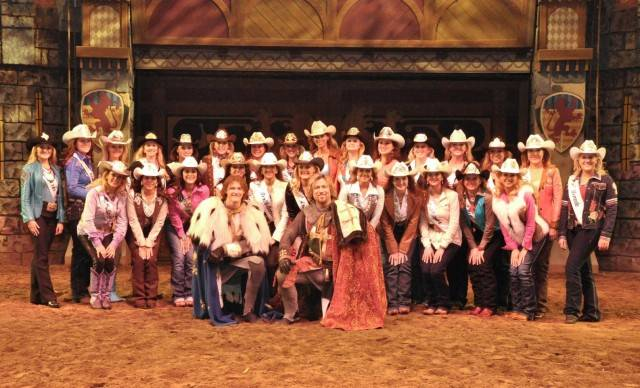 Miss Rodeo America 2014 contestants.