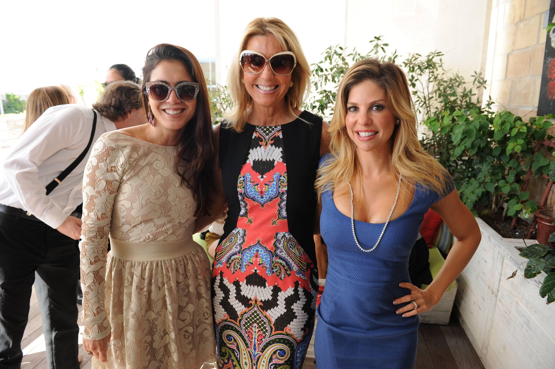 Nina Miguel, Tina Carlo, & Nikki Simkins