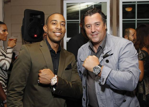 Ludacris and Rick De La Croix at the opening of Hublot's Atlanta boutique