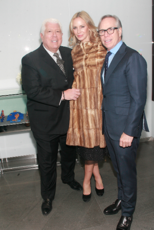 Dennis Basso and Dee and Tommy Hilfiger