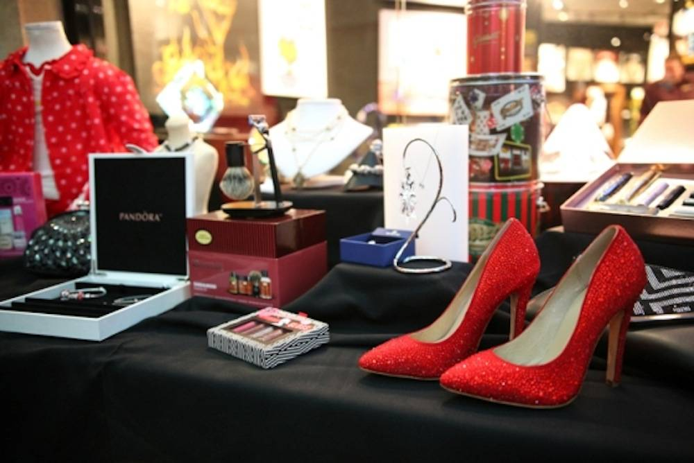 Select gift ideas and fashion items from Miracle Mile Shops' Holiday Checklist_Rockin' Holidays_Low Res