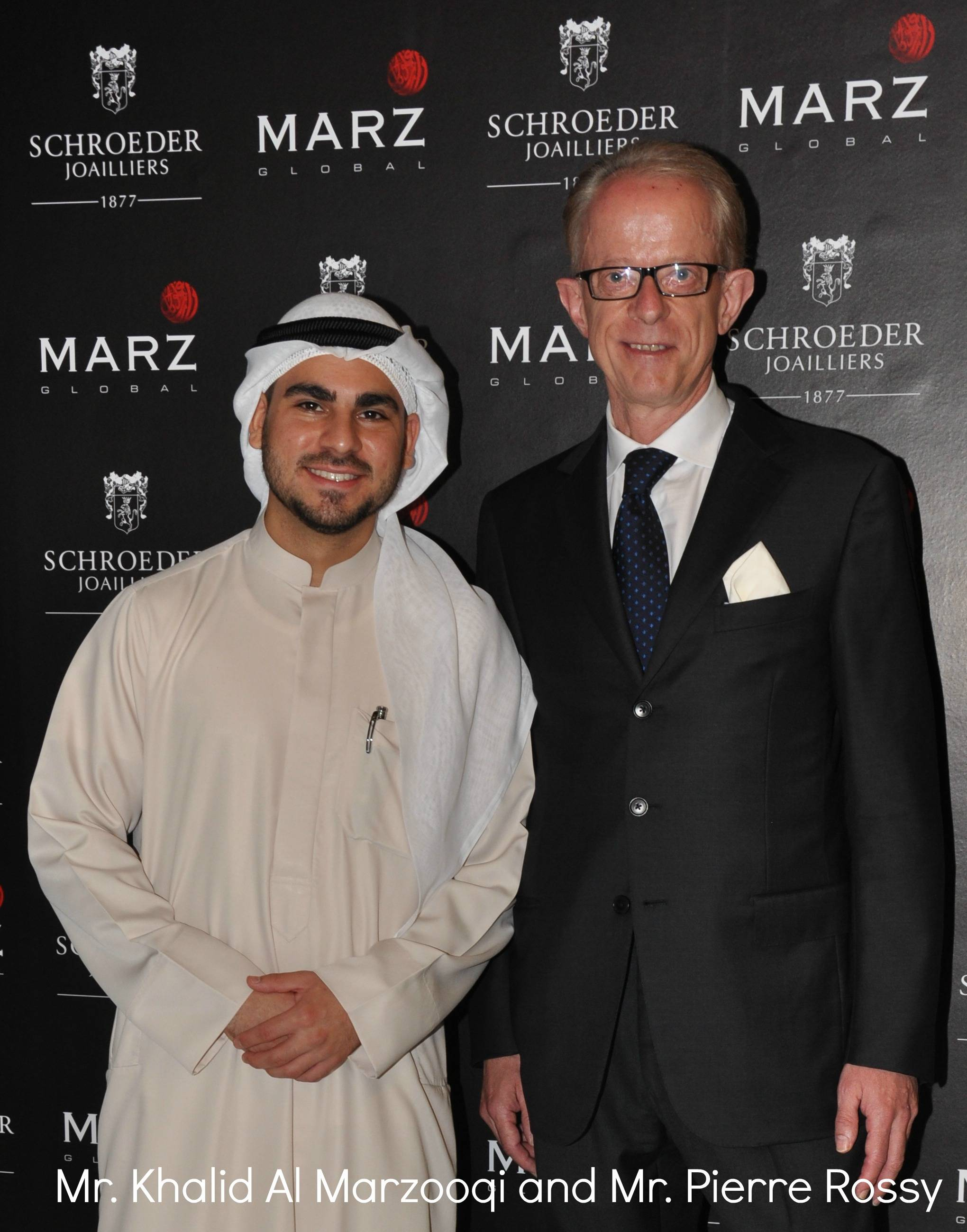 marz global launches schroeder joailliers in dubai haute living