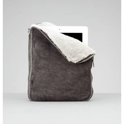 Shearling iPad case, available at Henry Beguelin
