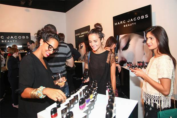 marc jacobs beauty launch dubai