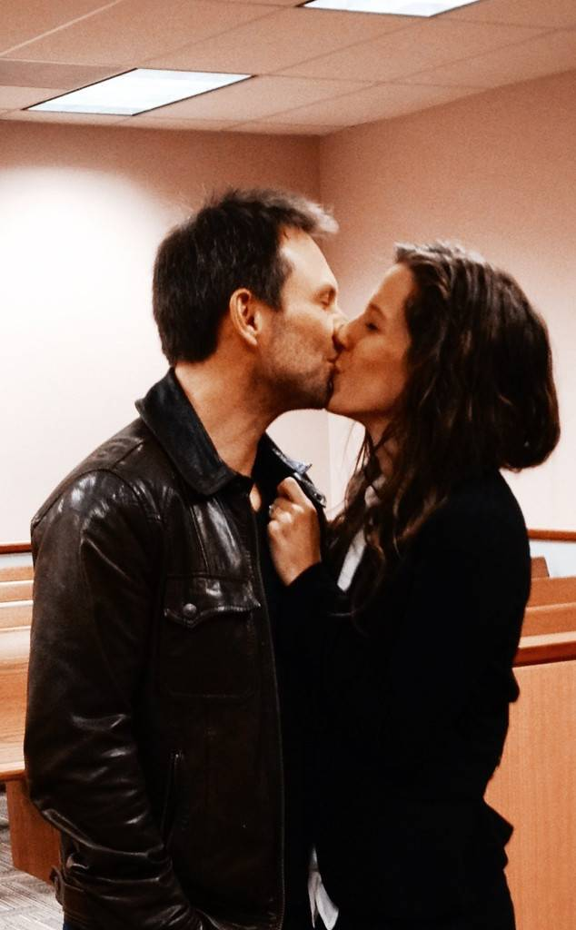 Christian Slater And Brittany Lopez Marry At Coral Gables