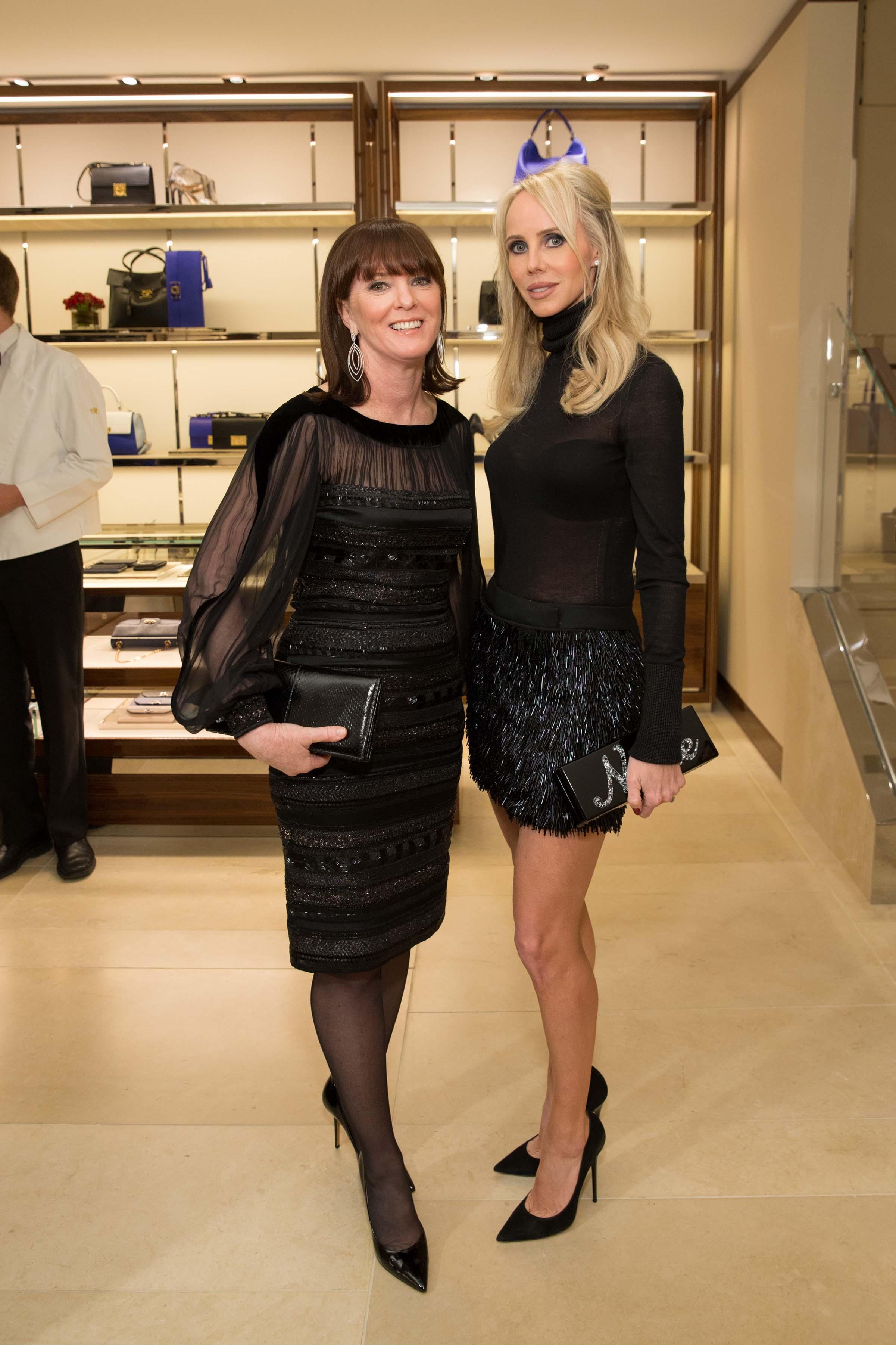 Allison Speer and Vanessa Getty