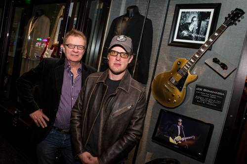 01.20_Warwick Stone and Joe Bonamassa_Hard Rock Hotel & Casino_Photo credit Erik Kabik