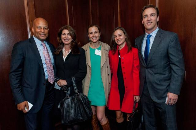 Ronnie Lott, Karen Lott, Serena Perkins, Bradley James, Alec Perkins  Credit: Drew Altizer Photography