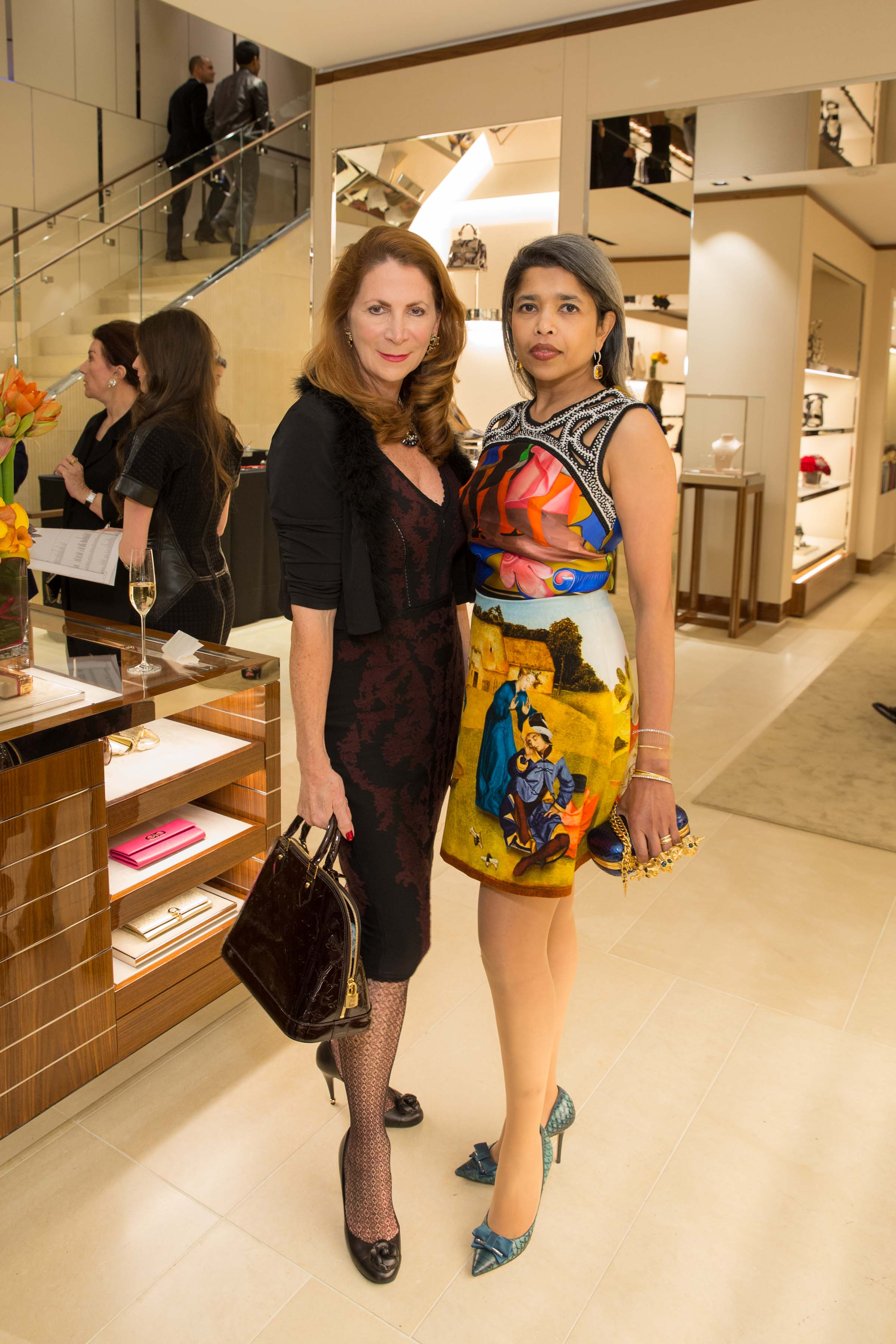 Patricia Ferrin Loucks, Deepa Pakianathan
