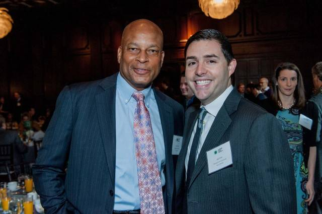 Ronnie Lott and Jed York  Credit: Drew Altizer Photography