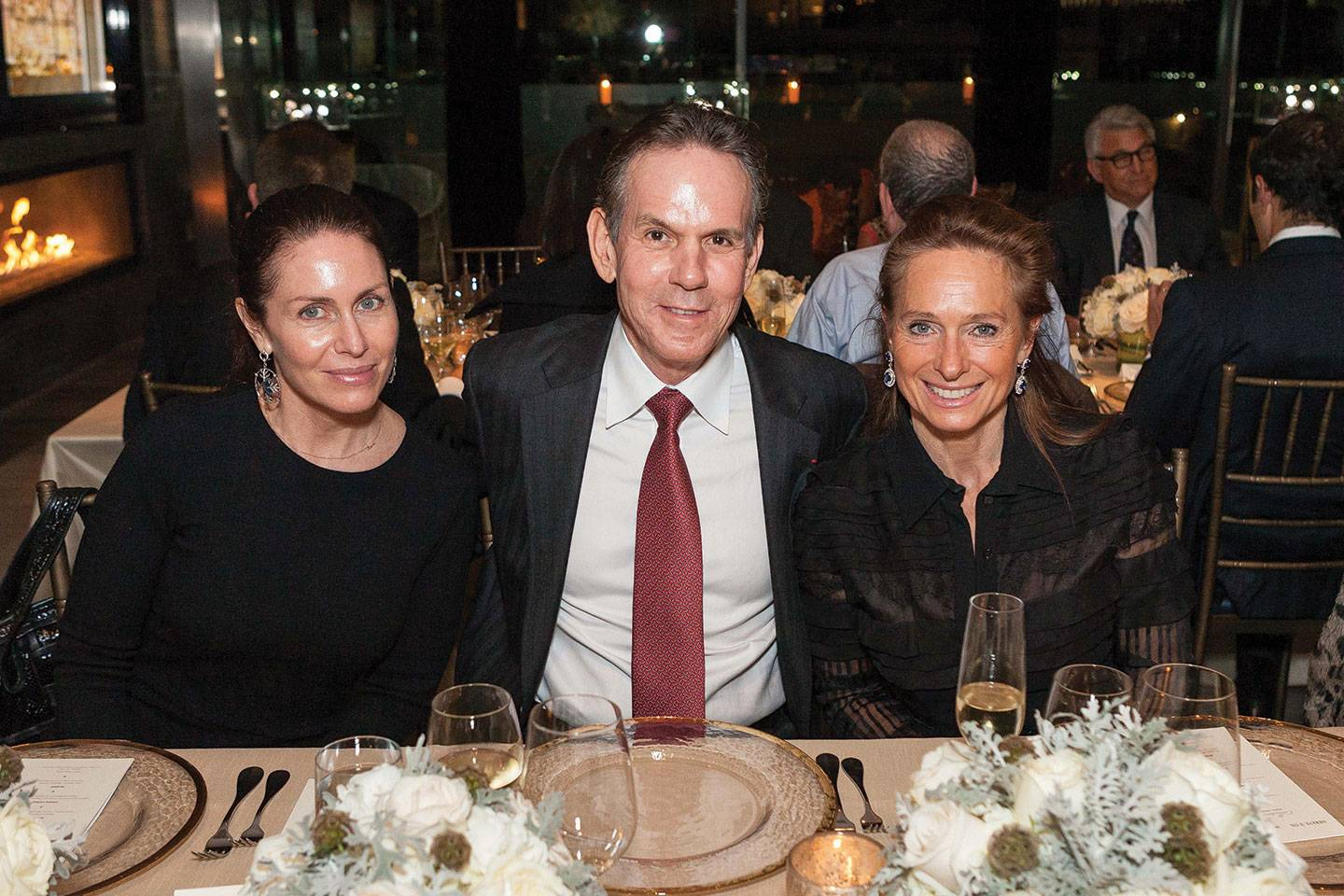 Laura Cunningham, Thomas Keller and Elizabeth Thieriot