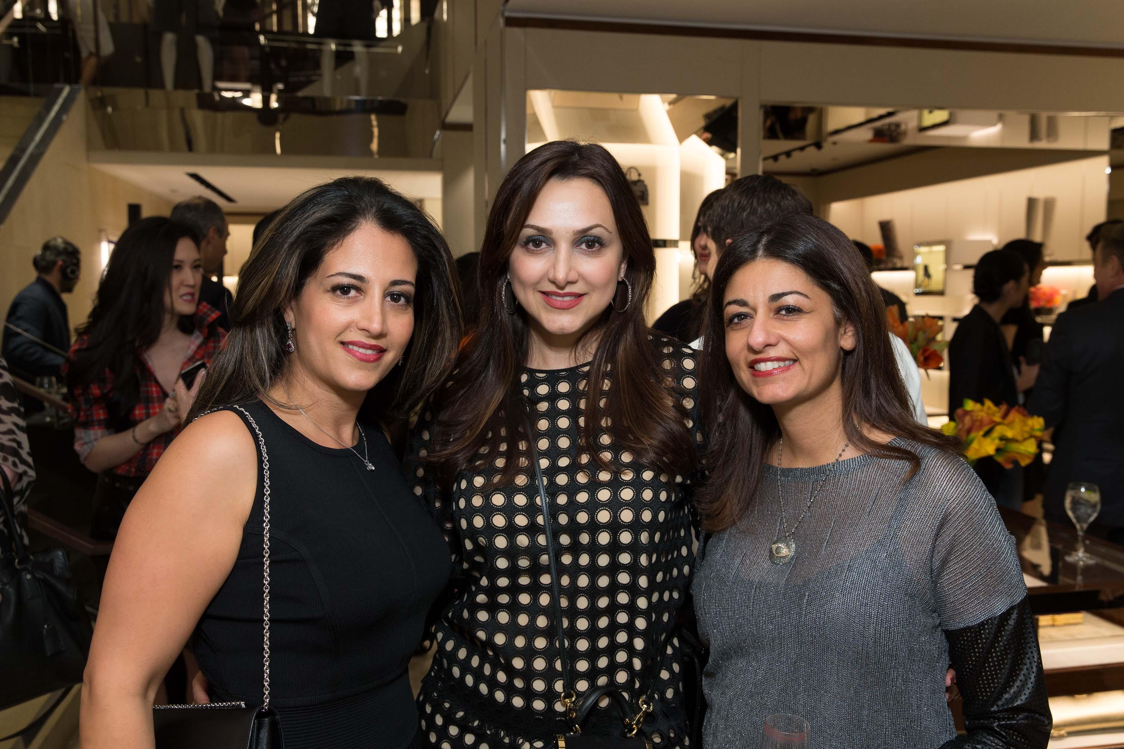 Sanaz Malek, Bita Daryabari, Laleh Kazemi