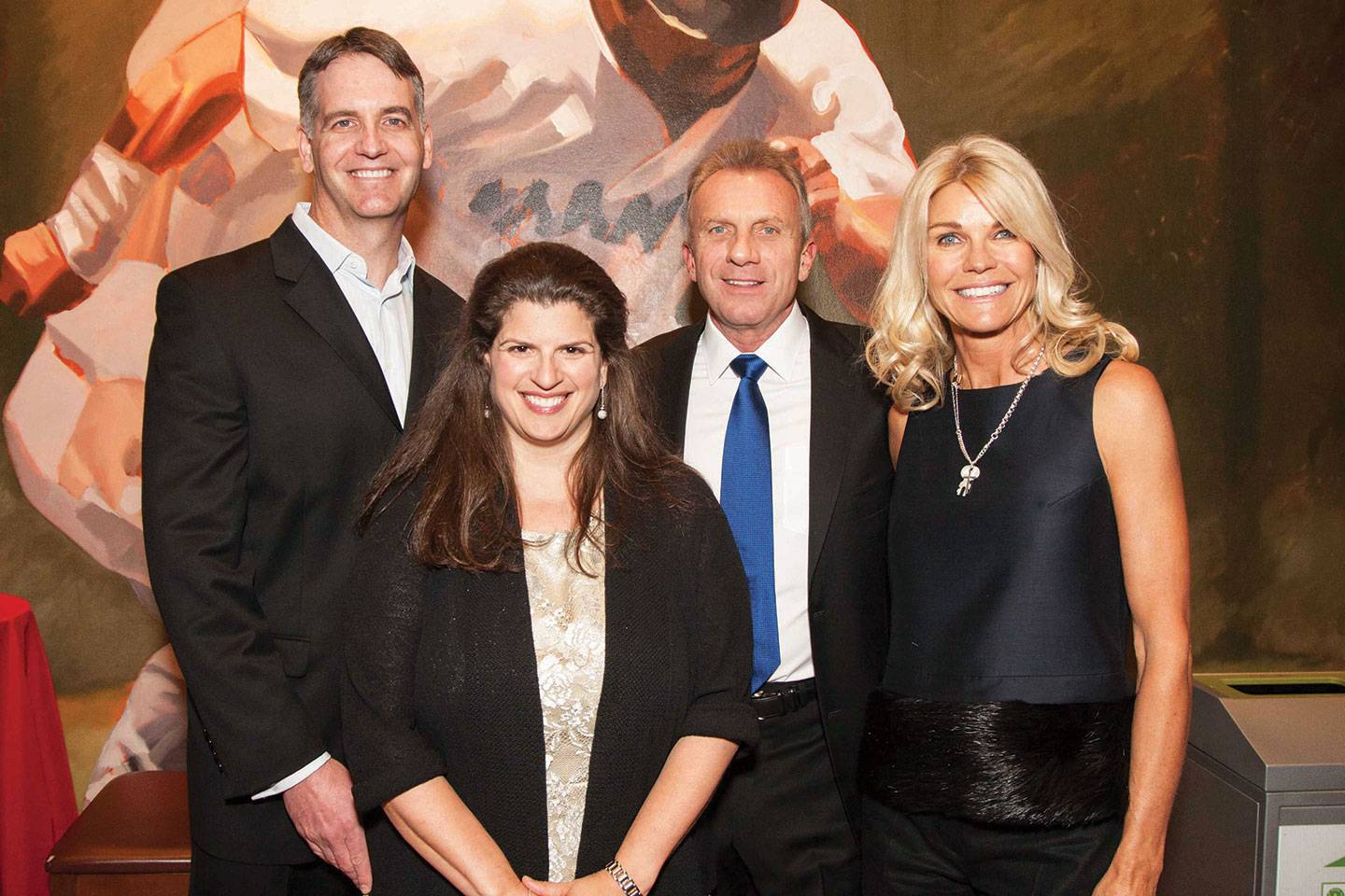 Scene: Holiday Heroes Honors Jennifer and Joe Montana