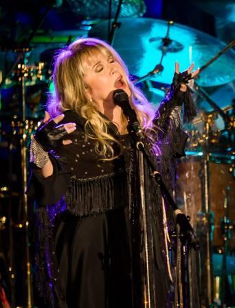 Fleetwood Mac performs at CES.