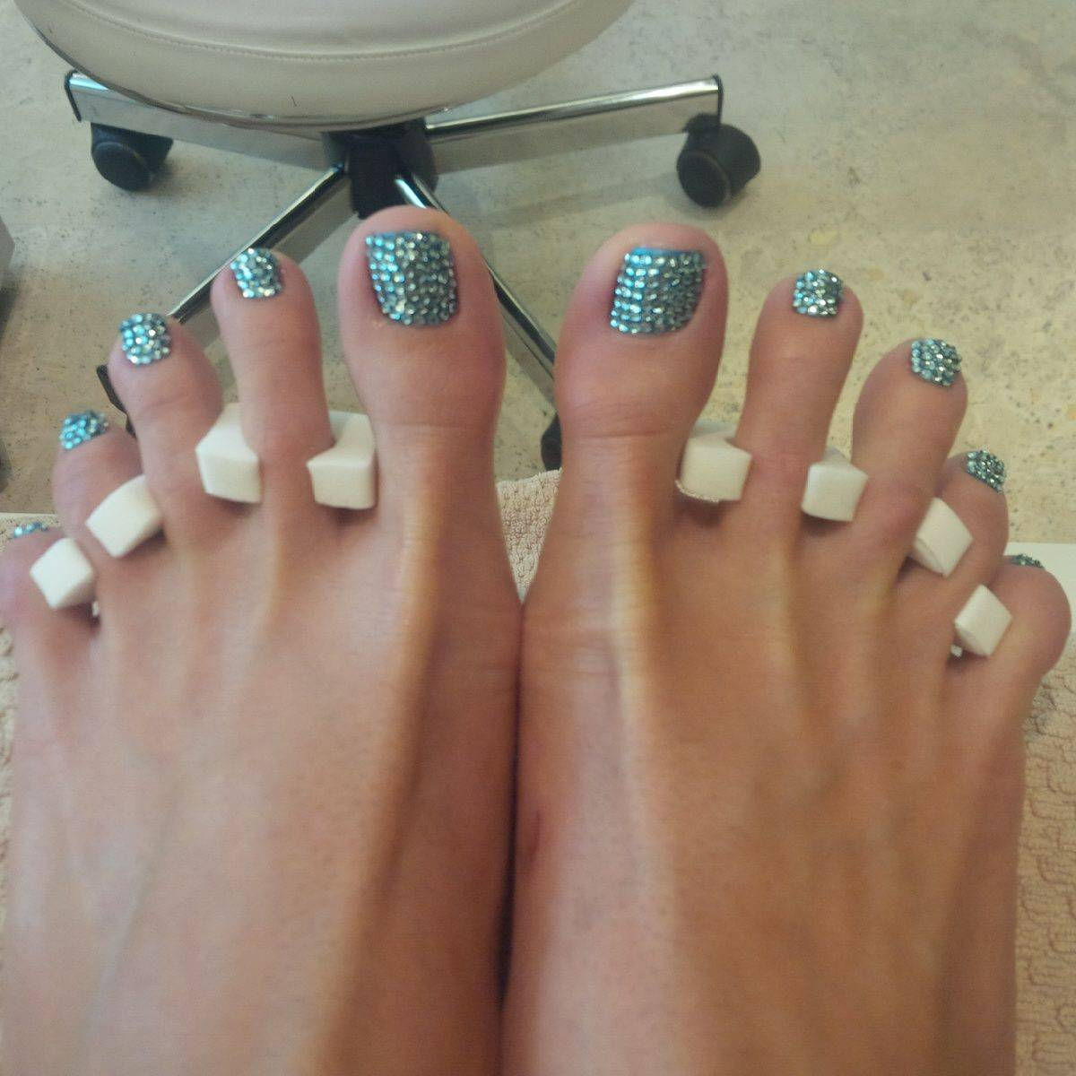 Swarovski Pedicure? Yes, It Exists! ONLY at the Fontainebleau Hotel ...