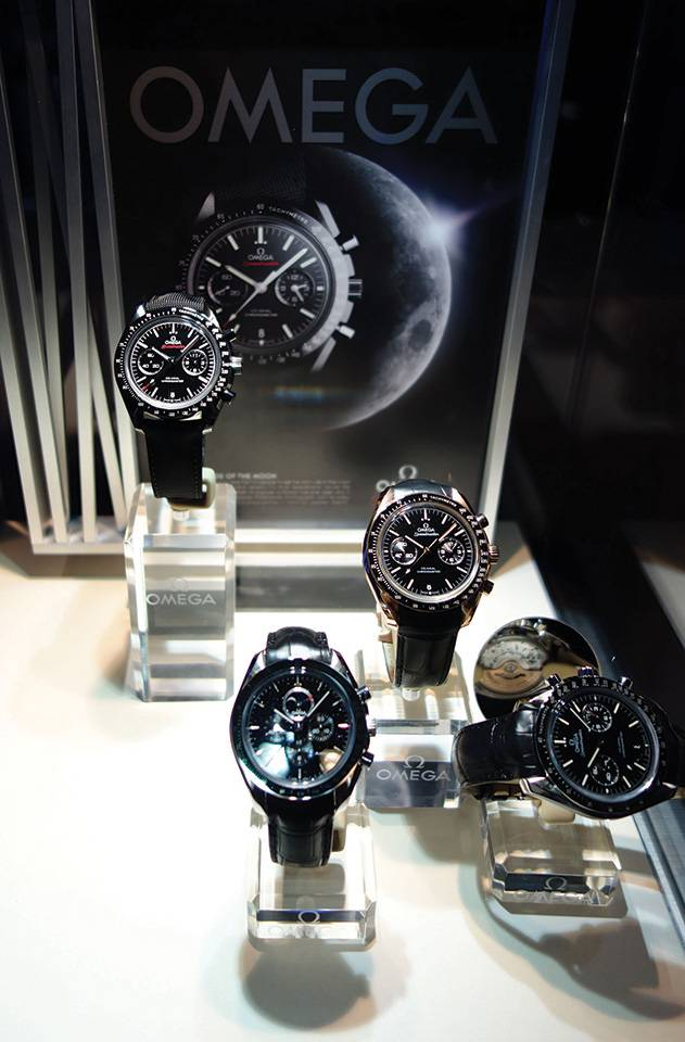 Omega Dark Side of the Moon watches