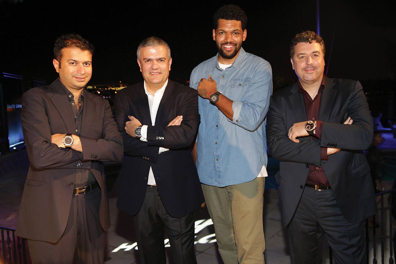 Kamal Hotchandani, Ricardo Guadelupe, Hebru Brantley, Rick de la Croix