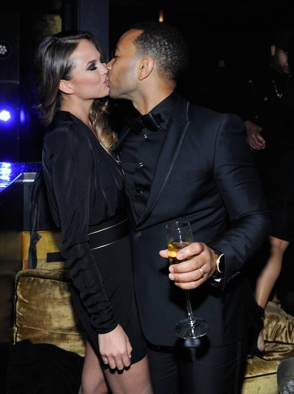 John Legend Rings In 2014 At HAZE Nightclub At ARIA In Las Vegas