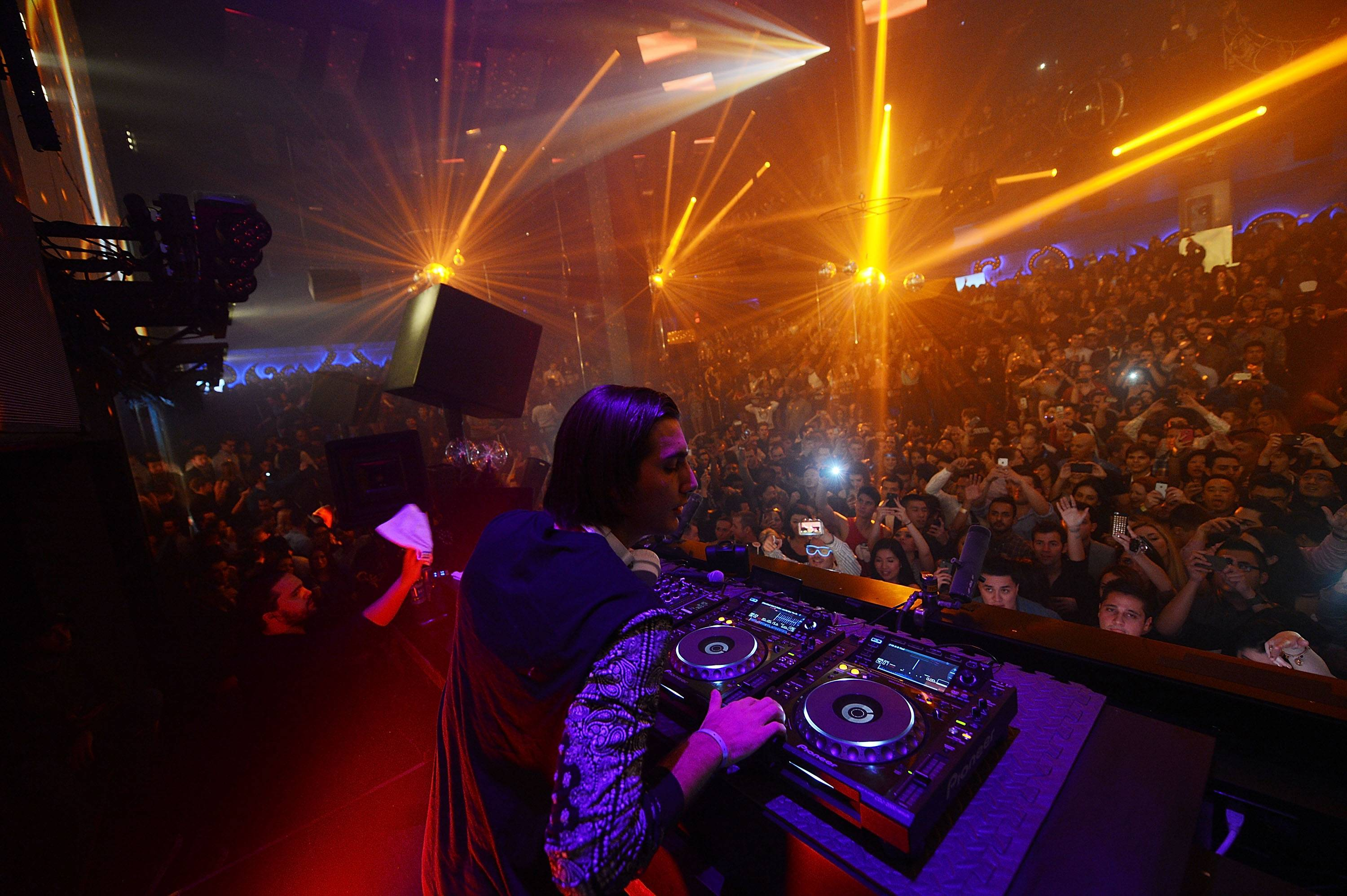 Light Nightclub Celebrates Alesso's Grammy Nomination During New Years Festivities At Light Nightclub Inside Mandalay Bay Hotel And Casino