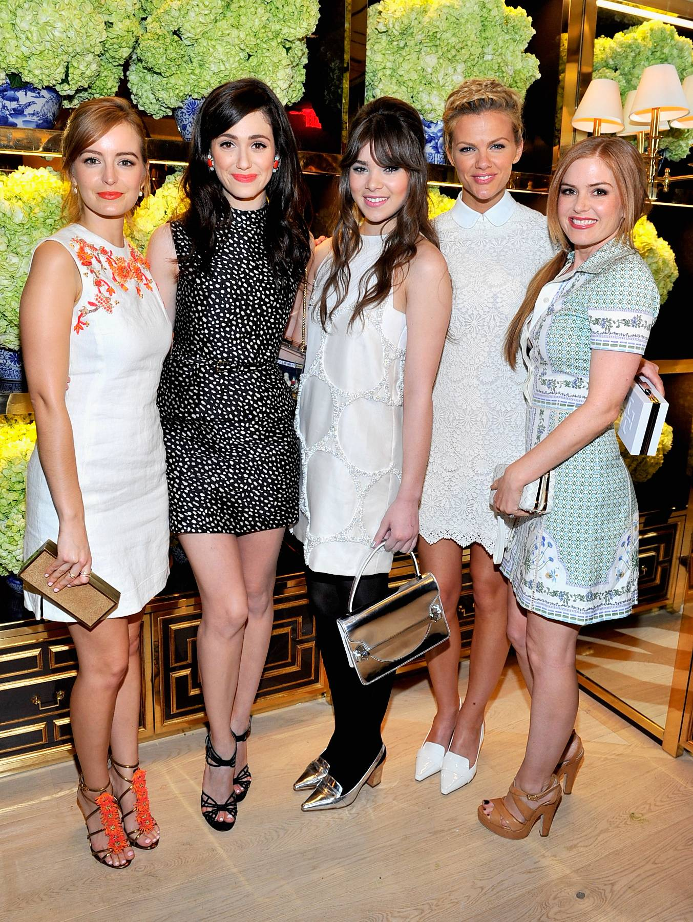 Tory Burch Rodeo Drive Flagship Opening - Red Carpet
