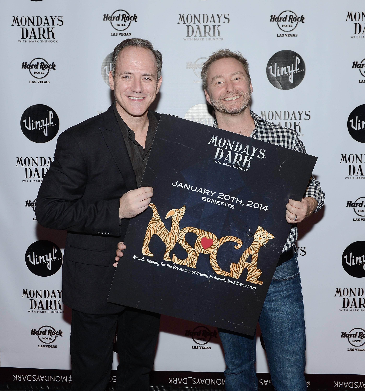 """Mondays Dark"" With Mark Shunock Benefiting Nevada SPCA At Vinyl Inside Hard Rock Hotel & Casino Las Vegas"