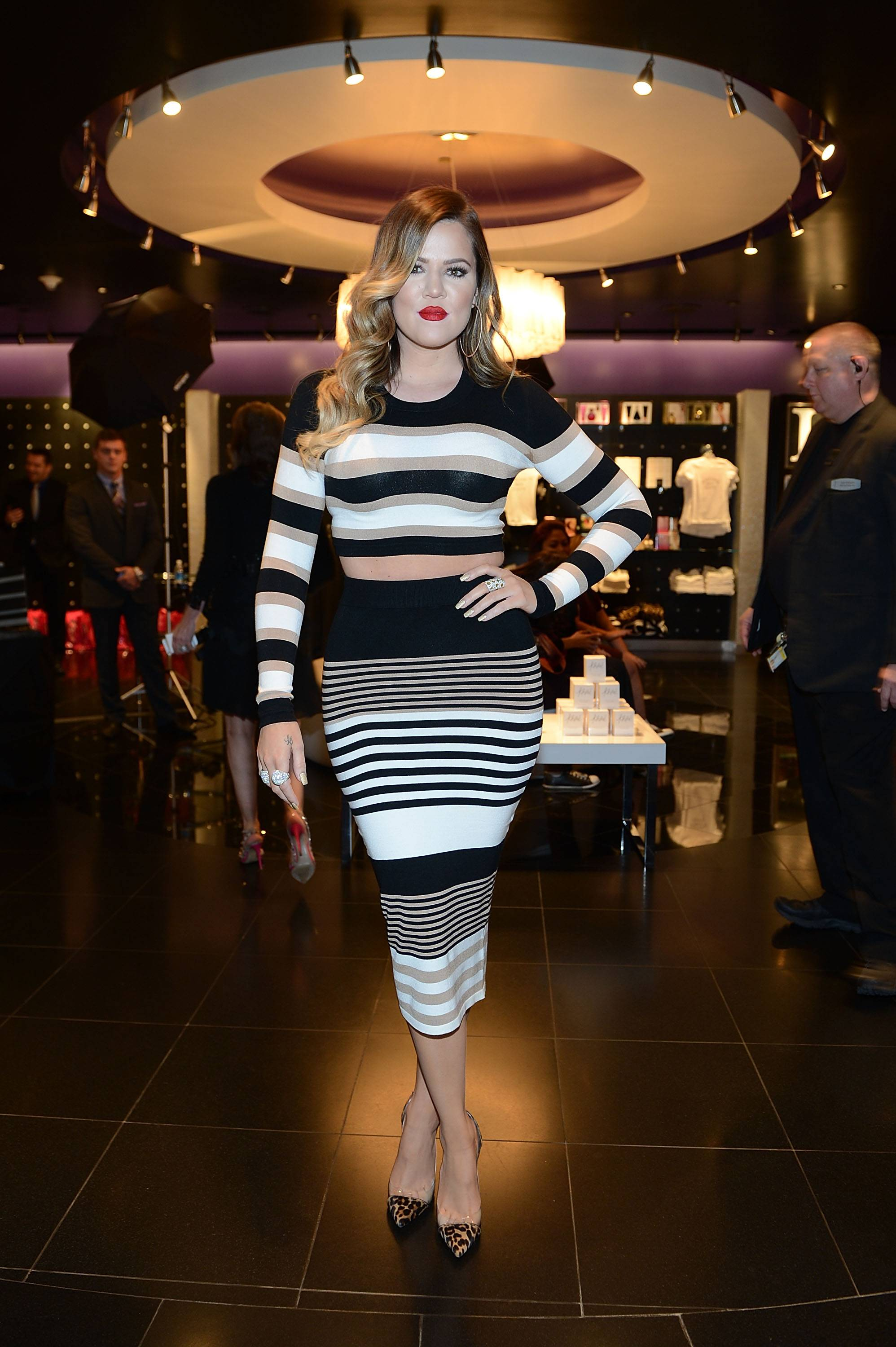 Khloe Kardashian Special Appearance At Kardashian Khaos In The Mirage Hotel And Casino