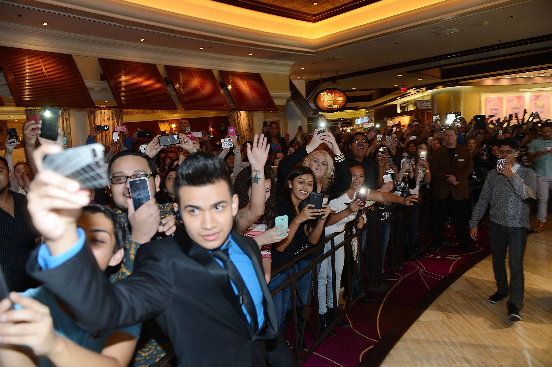 Khloe Kardashian Special Appearance At Kardashian Khaos In The Mirage Hotel And Casino