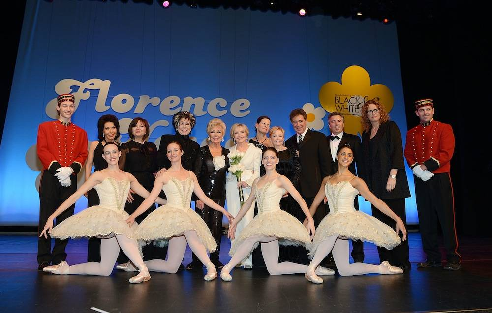 Nevada Ballet Theatre Celebrates It's 30th Anniversary With Florence Henderson As It's Woman Of The Year
