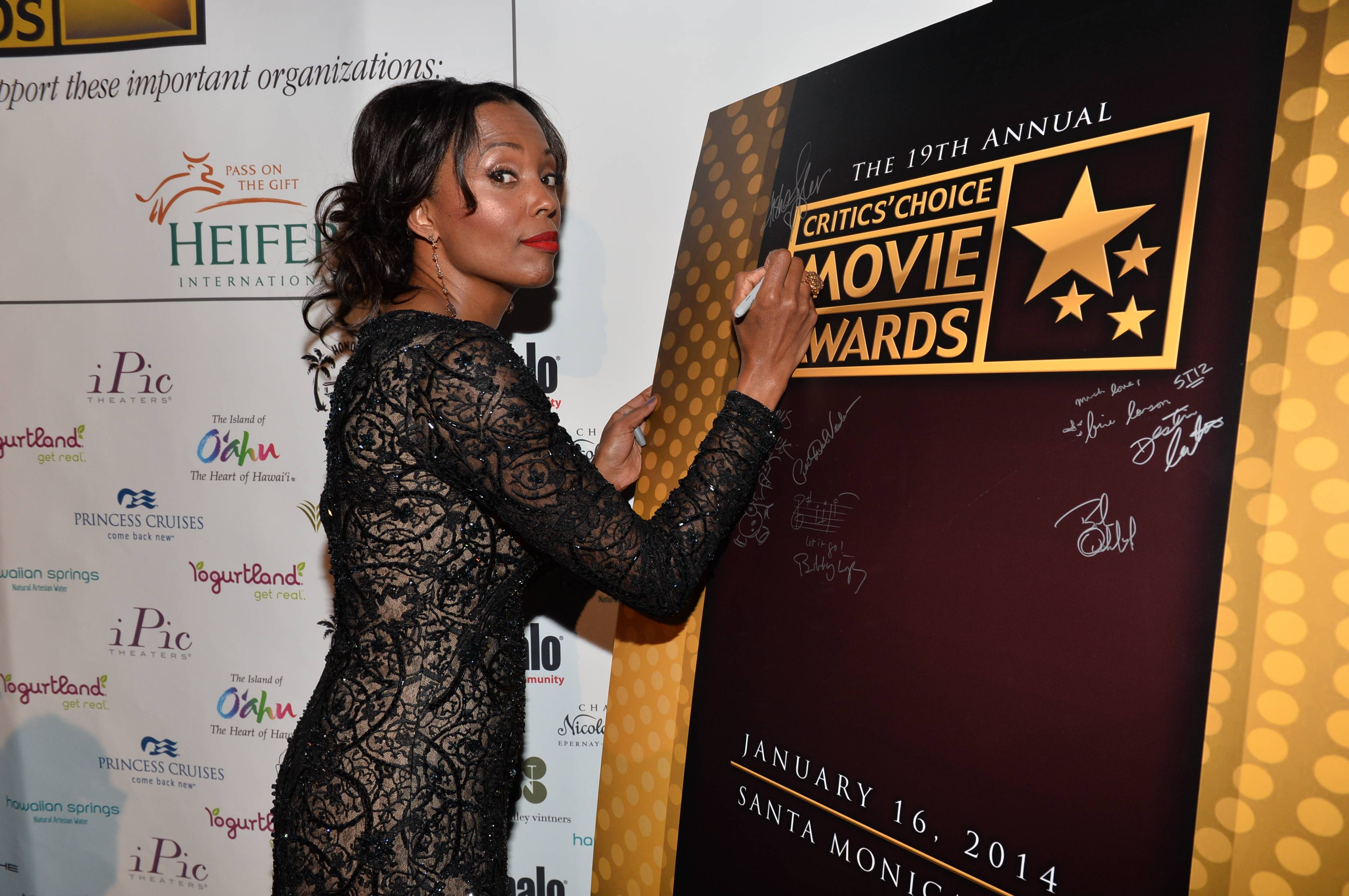 Critics' Choice Movie Awards 2014 VIP Reception