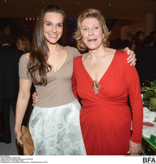 Arianna and Agnes Gund