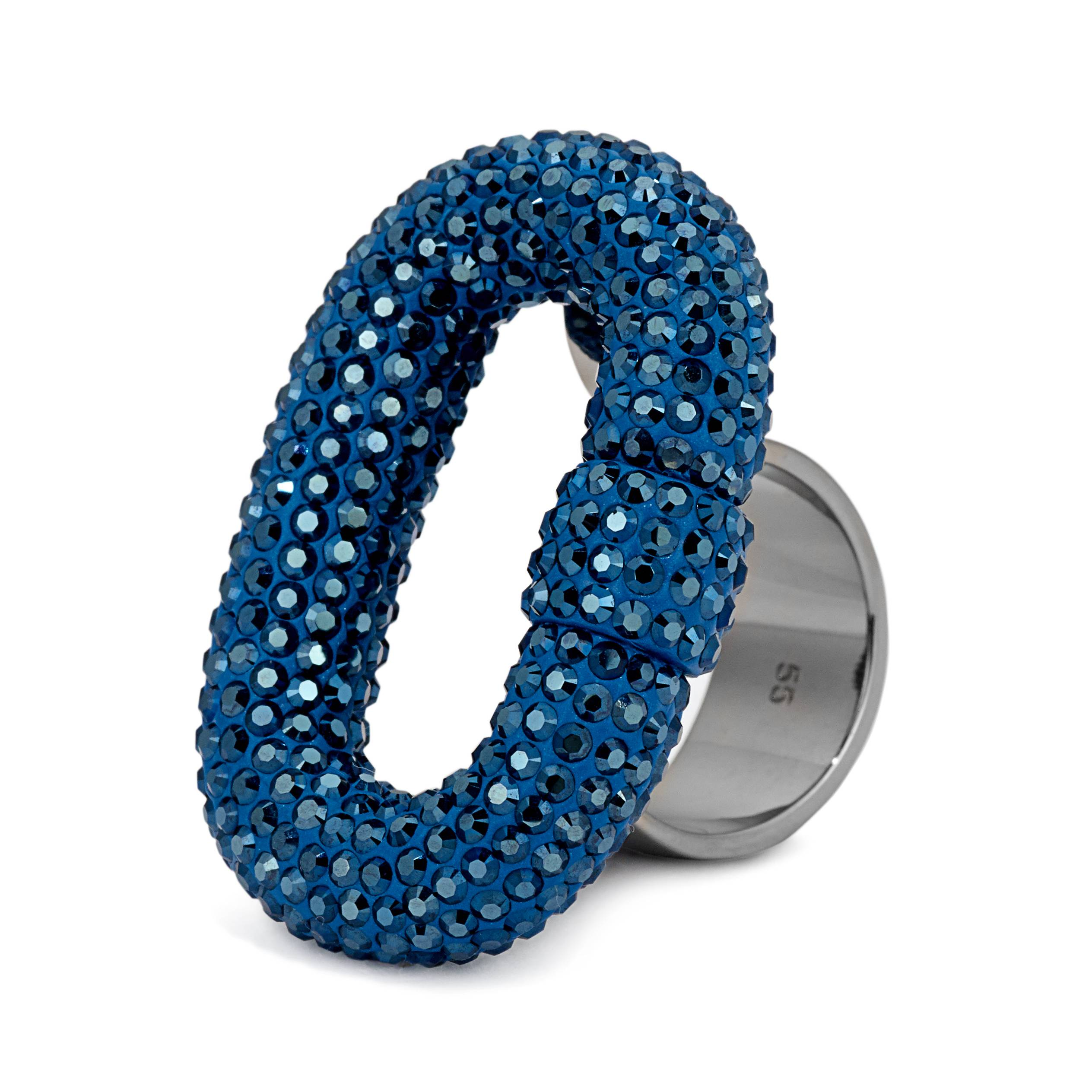 Atelier Swarovski by JC Obando - Metallic Blue, Roxbury Ring