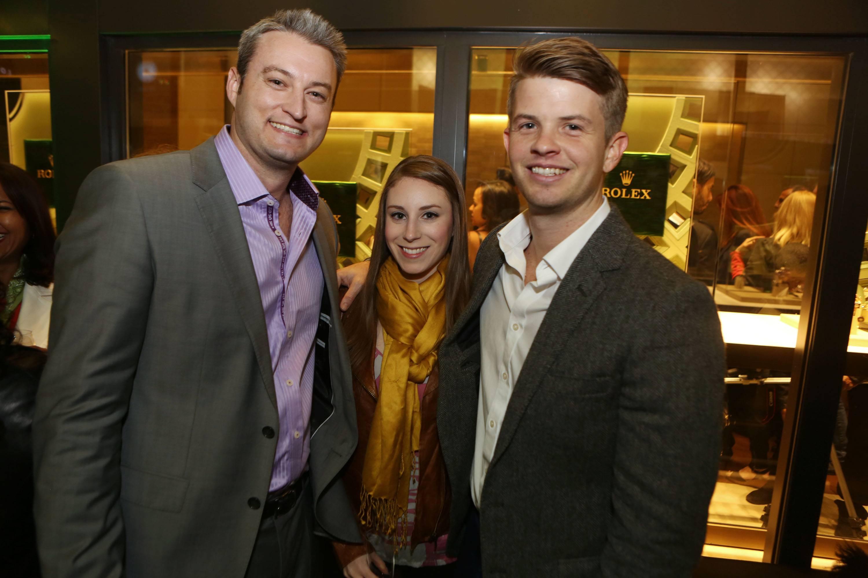 Brent Campbell, Elissa Fitzmartin, &  Trent Reichling