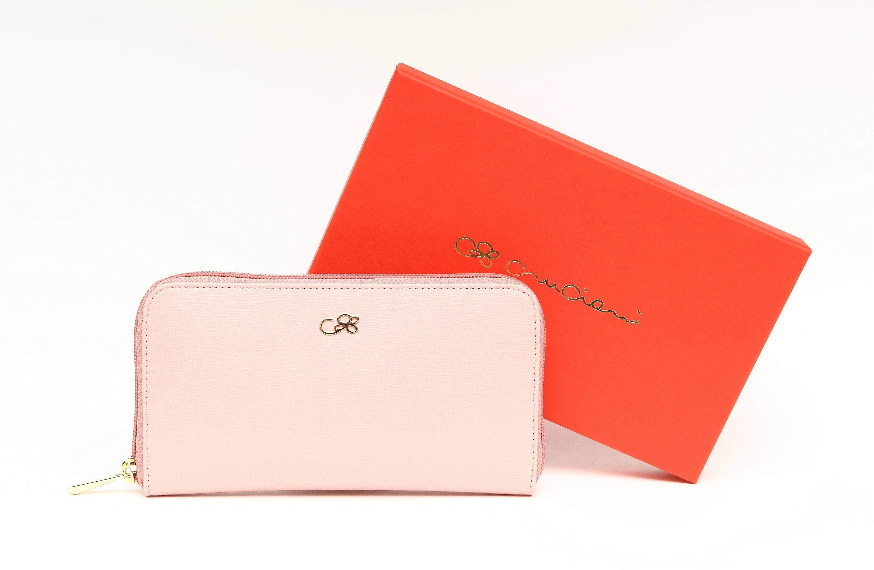 Cruciani C – pink wallet  box 2