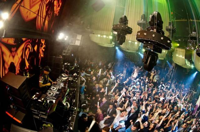 DJ Chuckie at Marquee. Photo: Karl Larson/Powers Imagery