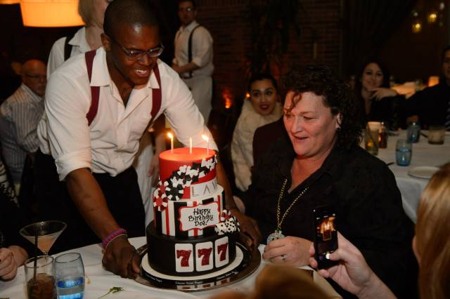 Dot Marie Jones celebrates her birthday at Lavo. Photos: Al Powers/Powers Imagery