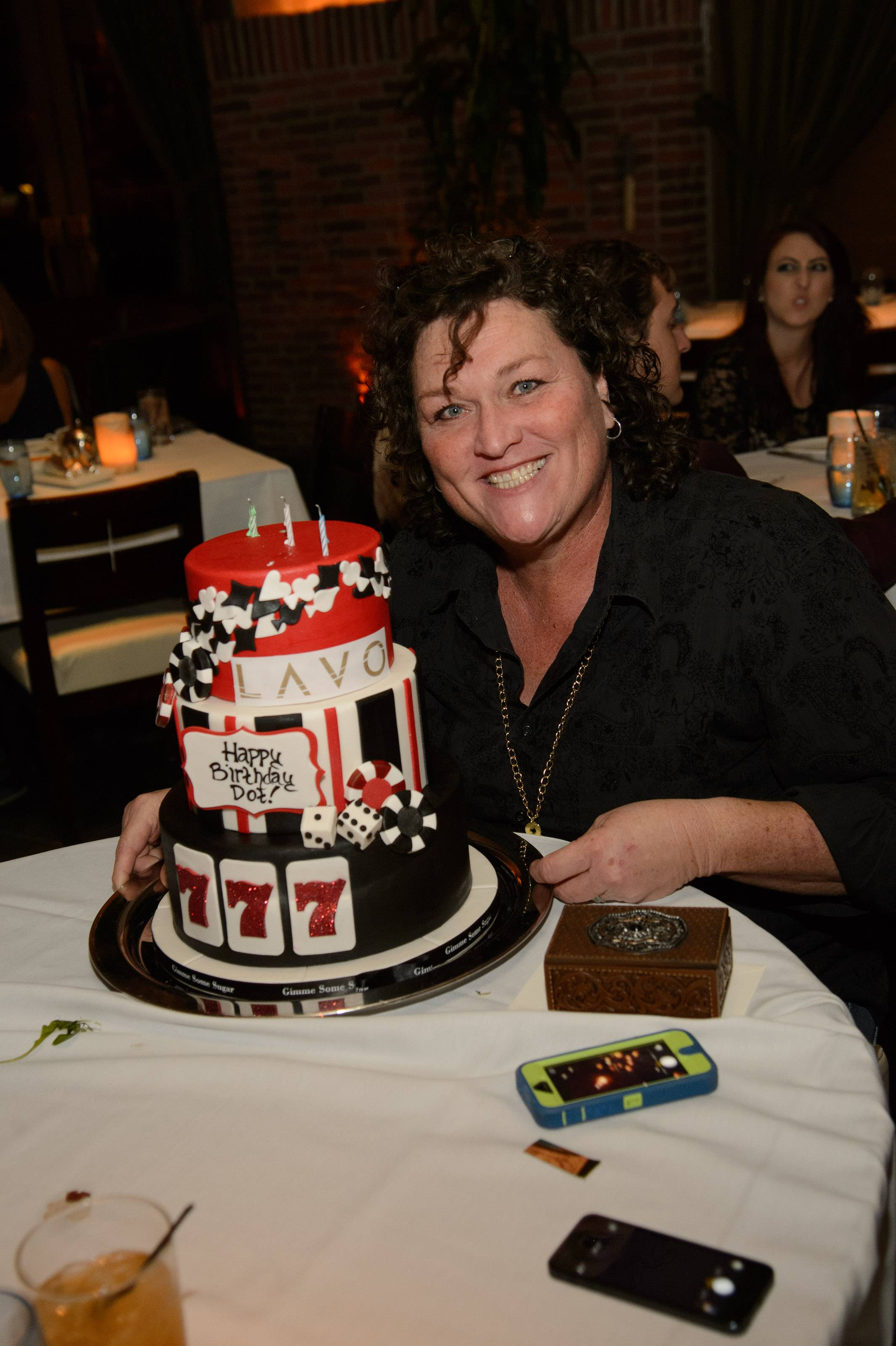 "Actor of ""Glee"", Dot Marie Jones celebrates her 50th birthday"