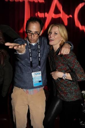 Elizabeth Banks and director David Wain at TAO at Village at the Lift with Moet and Stella Artois. Photos: Seth Browarnik/WorldRedEye.com